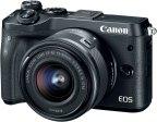 Canon EOS M6 + 15-45mm -mikrojärjestelmäkamera, musta