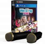 We Sing Pop! + 2 mikrofonia -pelipaketti, PS4