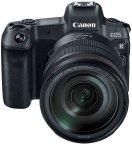 Canon EOS R -mikrojärjestelmäkamera + 24-105mm F4L -objektiivi + EF - EOS R -adapteri