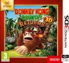 Donkey Kong Country Returns -peli, 3DS