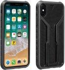 Topeak Ridecase iPhone X/XS älypuhelimille, musta