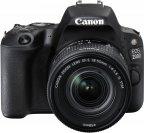 Canon EOS 200D -järjestelmäkamera, musta + 18-55 IS STM