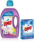 Omo Color -pyykinpesuaine, 3 l + Omo-pesukoneenpuhdistaja, 3 x 40 g