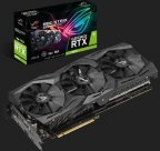 ASUS ROG-STRIX-RTX2070-A8G-GAMING 8192 Mt -näytönohjain PCI-e-väylään