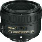 Nikon AF-S NIKKOR 50 mm f/1.8G -normaaliobjektiivi