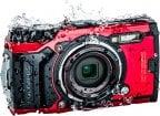 Olympus TOUGH TG-6 -digikamera, punainen