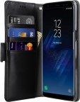 Melkco FlipCover -suojakotelo, Samsung Galaxy S8, musta