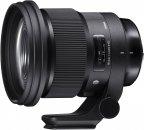 Sigma 105 mm f1.4 A DG HSM Art -teleobjektiivi, Nikon F