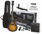 Epiphone Les Paul Player Pack, Vintage Sunburst CF