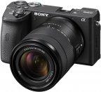 Sony A6600 -mikrojärjestelmäkamera + 18-135mm -objektiivi