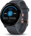 Garmin vivoactive 3 Music -GPS-älykello, sininen/ruusukulta