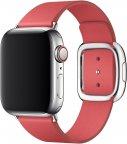 Apple Watch 40 mm tummanpinkki moderni nahkaranneke, suuri, MTQR2