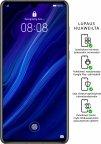 Huawei P30 128 Gt -Android-puhelin Dual-SIM, kiiltävä musta