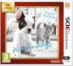Nintendogs + Cats - Ranskanbuldoggi (Selects) -peli, 3DS