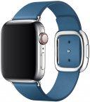 Apple Watch 40 mm airistonsininen moderni nahkaranneke, keskikokoinen, MTQM2