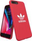 adidas Originals Adicolor -suojakuori, Apple iPhone 6+/6s+/7+/8+, punainen