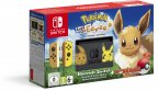 Nintendo Switch - Pokémon: Let's Go, Eevee -pelikonsolipaketti, erikoisväri