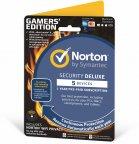 Norton Security Deluxe + WiFi Privacy Gamer's Edition  - 5 laitetta / 12 kk -tietoturvaohjelmisto