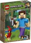 LEGO Minecraft 21148 - BigFig Steve ja papukaija