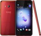 HTC U11 -Android-puhelin 64 Gt Dual-SIM, punainen