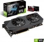 ASUS DUAL-RTX2070S-A8G-EVO 8192 Mt -näytönohjain PCI-e-väylään