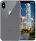 Wave silikonisuojus iPhone X / Xs, läpinäkyvä