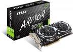 MSI GeForce GTX 1060 ARMOR 3G OCV1 3072 Mt -näytönohjain PCI-e-väylään