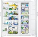 Rosenlew RJKL3000 -jääviileäkaappi ja Rosenlew RPP2330 -kaappipakastin, valkoinen