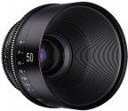 Samyang XEEN 50mm T1.5 CINE -objektiivi, Nikon F