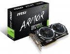 MSI GeForce GTX 1070 Ti ARMOR 8G -näytönohjain PCI-e-väylään