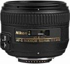Nikon Nikkor AF-S 50mm f/1.4G normaaliobjektiivi