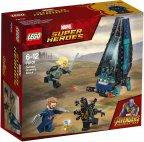 LEGO Super Heroes 76101 - Outriderin kuljetusalushyökkäys