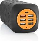 Fuj:tech IP50K 46800 mAh -varavirtalähde, musta/oranssi