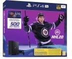 Sony PlayStation 4 Pro 1 Tt + NHL 20 -pelikonsolipaketti, musta