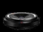 Olympus 9 mm Body Cap Lens f/8, musta