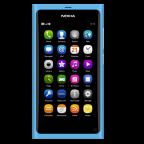 Nokia N9 älypuhelin 16GB, sininen