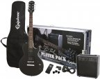 Epiphone Les Paul Player Pack, Ebony CF