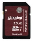 Kingston 32GB SDHC UHS-I U3 muistikortti