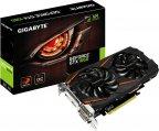 Gigabyte GeForce GTX 1060 GV-N1060WF2OC-6GD 6144 Mt -näytönohjain PCI-e-väylään