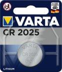 Varta CR2025 -paristo, 3 V, lithium