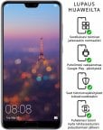Huawei P20 PRO -Android-puhelin Dual-SIM, 128 Gt, purppura