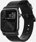 Nomad nahkaranneke , Apple Watch , 44/42 mm , musta