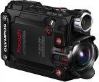 Olympus TOUGH TG-Tracker -iskunkestävä 4K-videokamera, musta
