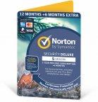 Norton Security Deluxe - 5 laitetta / 12 + 6 kk -tietoturvaohjelmisto