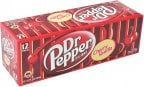 Dr Pepper Cherry Vanilla USA -virvoitusjuoma, 355 ml, 12-PACK