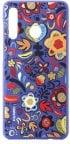 Huawei P30 Lite TPU Cover, Flower Blue