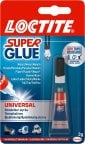 Loctite Super Glue Universal -pikaliima, 3 g