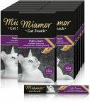Miamor Cat Snack Mallastahna juustolla, 11 x 6 pack -herkkutahna