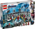 LEGO Super Heroes 76125 - Iron Manin haarniskahuone