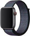Apple Watch 44 mm Hyper Grape Nike Sport Loop -ranneke, MV8F2